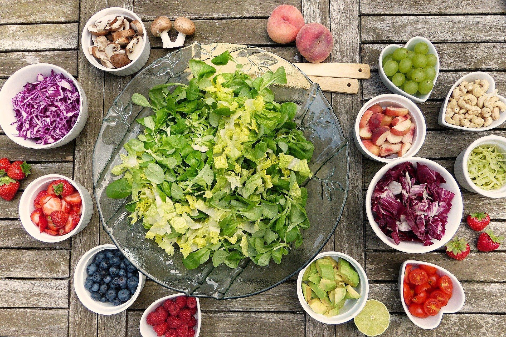 ダイエット、野菜料理